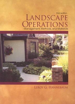Landscape Operations: Management, Methods, and Materials