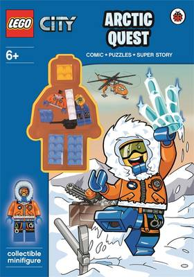 LEGO CITY: Arctic Quest Activity Book with Minifigure