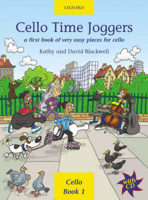 Cello Time Joggers: A First Book of Very Easy Pieces for Cello