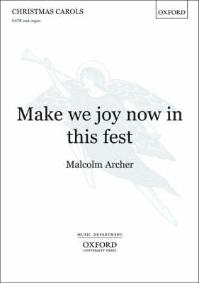 Make We Joy Now in This Fest: Vocal Score