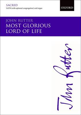 Most Glorious Lord of Life: Vocal Score