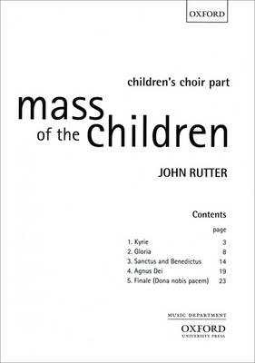 Mass of the Children: Children's Choir Part