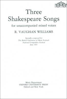 3 Shakespeare Songs S(s)atb