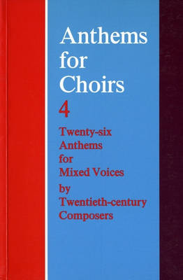 Anthems For Choirs 4