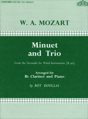 Minuet and Trio: For Clarinet and Piano