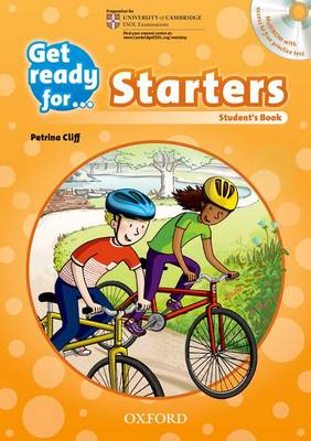 Get Ready for: Starters: Student's Book and Audio CD Pack