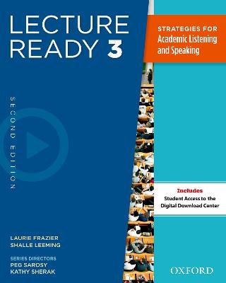 Lecture Ready Second Edition 3: Student Book