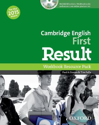 Cambridge English: First Result: Workbook Resource Pack without Key
