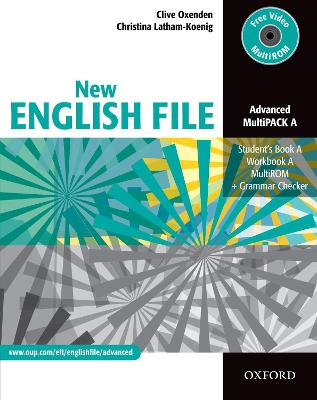 New English File: Advanced: MultiPACK A: Six-level general English course for adults