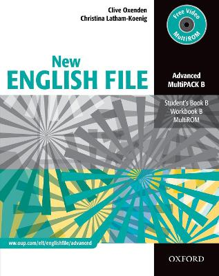 New English File: Advanced: MultiPACK B: Six-level general English course for adults