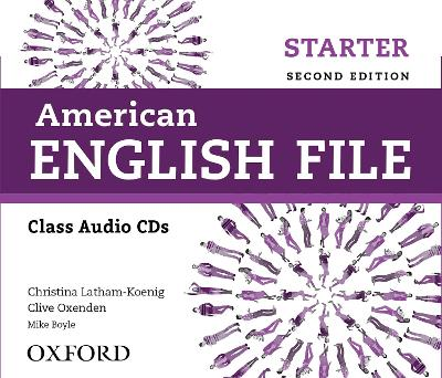 American English File: Starter: Class Audio CDs