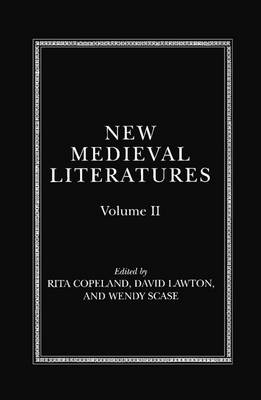 New Medieval Literatures: Volume II
