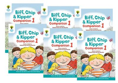 Oxford Reading Tree: Biff, Chip and Kipper Companion 1 Pack of 6: Reception / Year 1