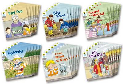 Oxford Reading Tree Biff, Chip and Kipper Stories Decode and Develop: Level 1: Level 1 More B Decode & Develop Class Pack of 36