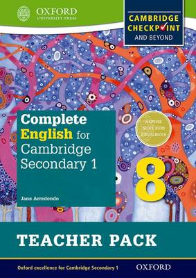 Complete English for Cambridge Secondary 1 Teacher Pack 8: For Cambridge Checkpoint and beyond