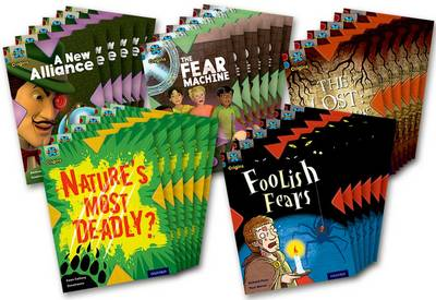 Project X Origins: Dark Red+ Book band, Oxford Level 19: Fears and Frights: Class Pack of 30