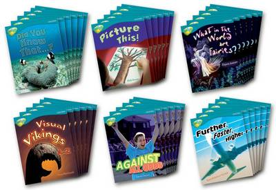 Oxford Reading Tree: Level 9: TreeTops Non-Fiction: Class Pack (36 books, 6 of each title)