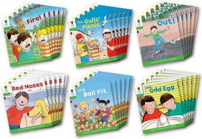 Oxford Reading Tree: Stage 2: Decode and Develop: Class Pack of 36