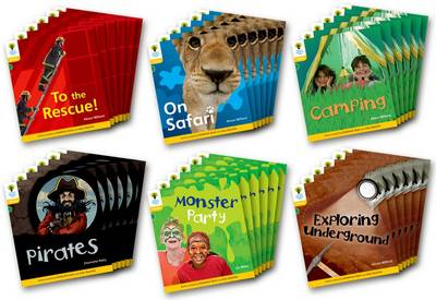 Oxford Reading Tree: Stage 5: Floppy's Phonics Non-fiction: Class Pack of 36
