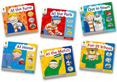 Oxford Reading Tree: Stage 1: Floppy's Phonics: Sounds and Letters: Pack of 6