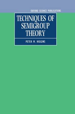 Techniques of Semigroup Theory