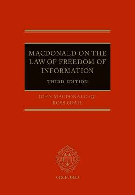 Macdonald on the Law of Freedom of Information