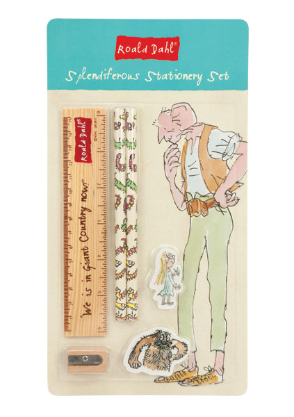 Roald Dahl Splendiferous Stationery Set