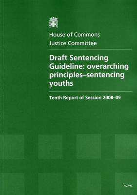 Draft Sentencing Guideline: Overarching Principles - Sentencing Youths: Tenth Report of Session 2008-09 - Report, Together with Formal Minutes, Oral and Written Evidence