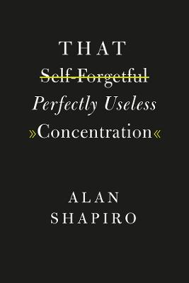 That Self-Forgetful Perfectly Useless Concentration