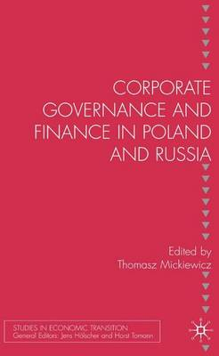 Corporate Governance and Finance in Poland and Russia