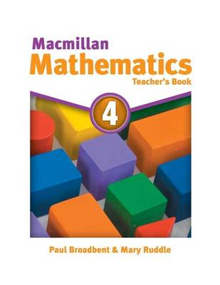 Macmillan Mathematics 4: Teacher's Book