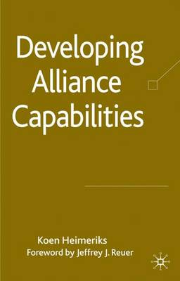 Developing Alliance Capabilities