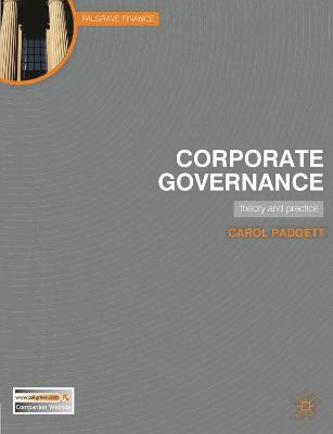 Corporate Governance: Theory and Practice