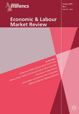 Economic and Labour Market Review Vol 1, no 8