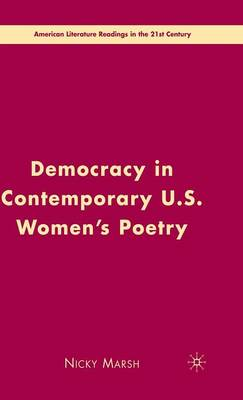 Democracy in Contemporary U.S. Women's Poetry