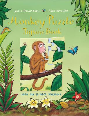 Monkey Puzzle Jigsaw Book