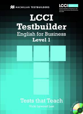 LCCI English for Business Testbuilder 1: Student Book + Audio CD