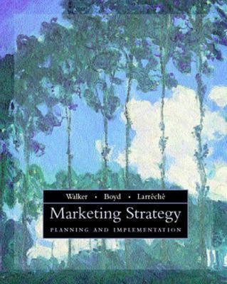 Marketing Strategy: Planning and Implementation