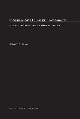 Models of Bounded Rationality: Economic Analysis and Public Policy