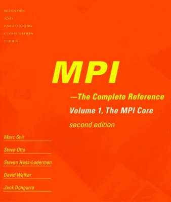 MPI - The Complete Reference