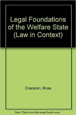 Legal Foundations of the Welfare State