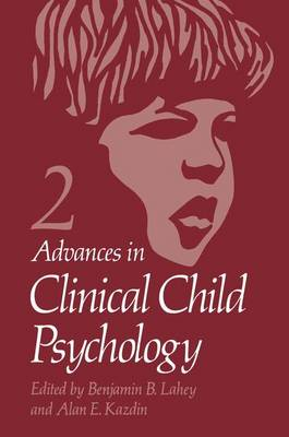 Advances in Clinical Child Psychology: Volume 2: Vol.2