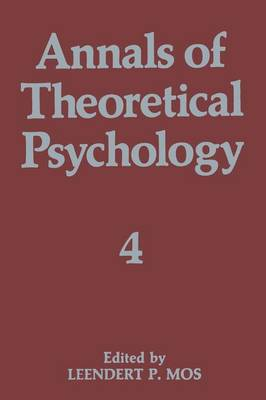 Annals of Theoretical Psychology: Volume 5