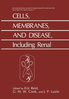 Cells, Membranes, and Disease, Including Renal: Including Renal