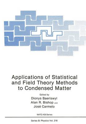 Applications of Statistical and Field Theory Methods to Condensed Matter