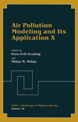 Air Pollution Modeling and Its Application: No. 10