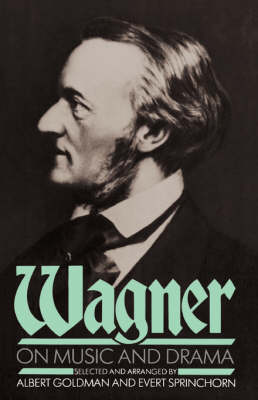 Wagner On Music And Drama