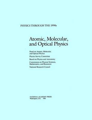 Atomic, Molecular, and Optical Physics