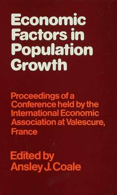 Economic Factors in Population Growth