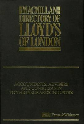 Macmillan Directory of Lloyd's of London